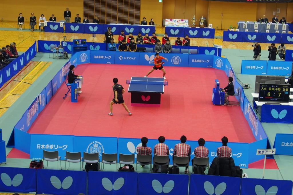 (C)JAPAN TABLE TENNIS LEAGUE