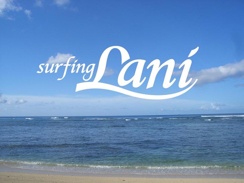 Surfing Lani